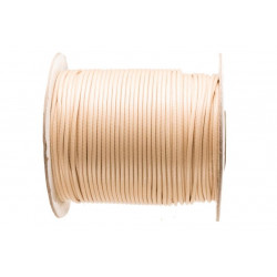 5m ou 10m Fil en Nylon Ciré 1,5mm Beige MC0215103