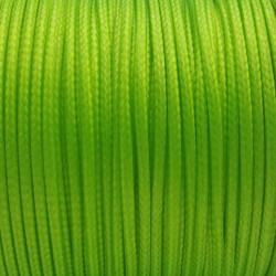 5m ou 10m Fil en Nylon Ciré 1,5mm Vert Fluo MC0215107-8