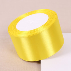 Ruban Satin 50mm Jaune MC0350003
