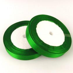 Ruban Satin Vert 25mm Rouleau 22m MC0325007