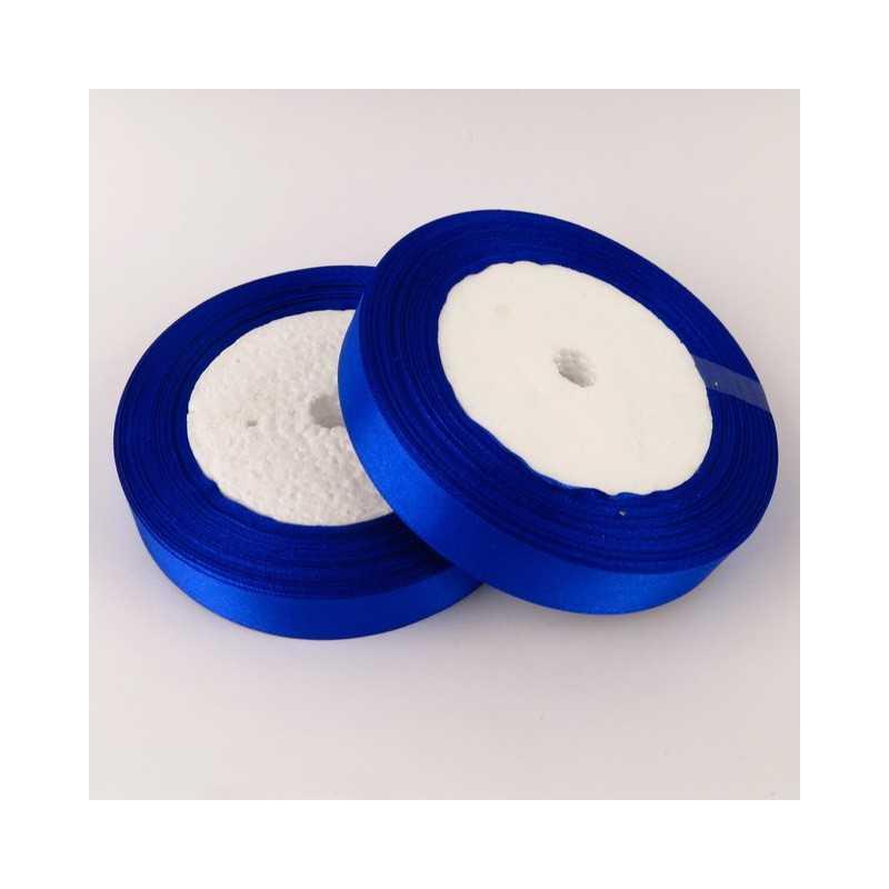 Ruban Satin Bleu 25mm ( Au Mètre)