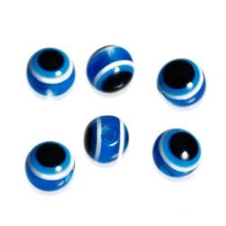 Lot 20 Perles Oeil Bleu Marine 4mm Oeil Turc Mc0104018