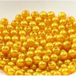 50 Perles 4mm Doré imitation Brillant MC0104033