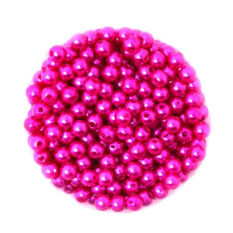 50 Perles 6mm Imitation Brillant Couleur Au Choix