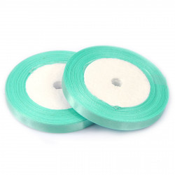 Ruban Satin Vert Tilleul 25mm ( Au Mètre) MC0325018