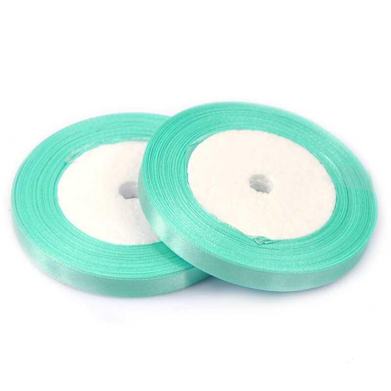 Ruban Satin Vert Tilleul 25mm ( Au Mètre)