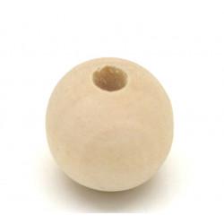 5 - 10 - 20 Perle en Bois 14mm Naturel MC0114001-3
