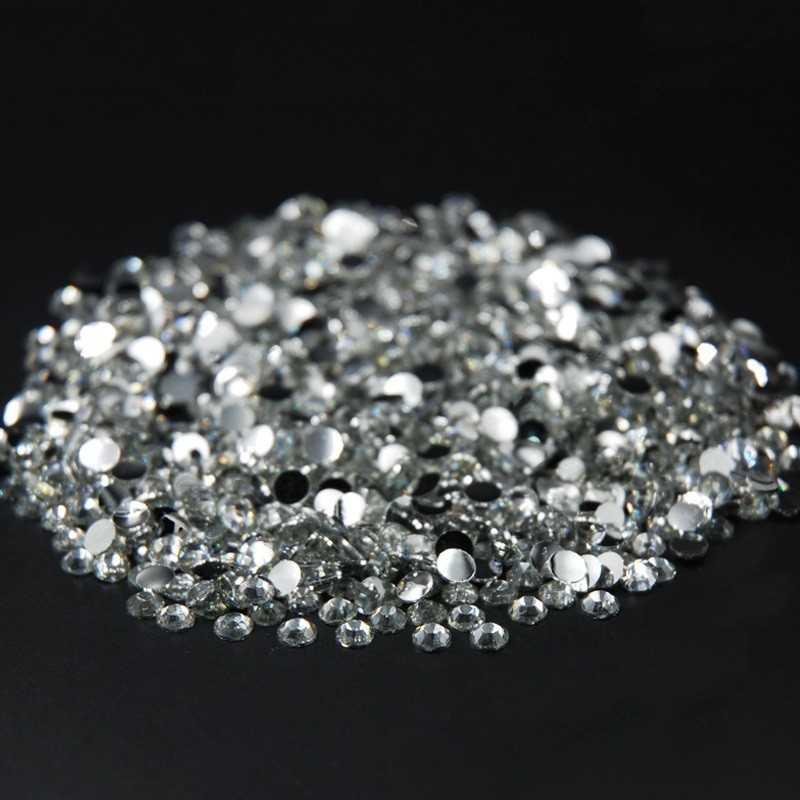 500 Strass 2mm Argenté crystal a coller