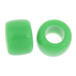 20 Perles Acrylique 8mm Grande Trou 4mm Mixte MC0108095