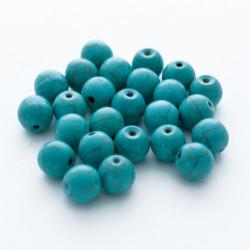 20 Perles 8mm Naturel Pierre Turquoise MC0108201