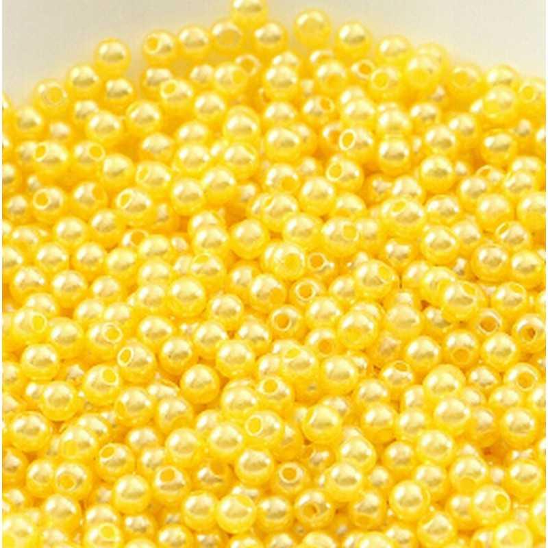 100 Perles imitation Brillant 3mm Couleur au Choix