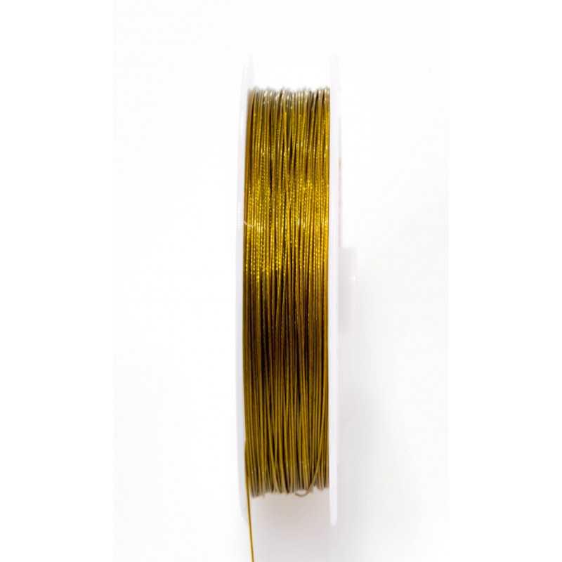 Fil Aluminium Doré 0.5mm