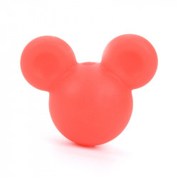 Perle en Silicone Souris 24mm x 20mm Mickey / Minnie