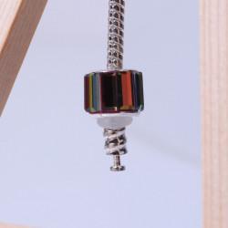 20 Silicone Stopper 6mm Blanc Anneaux Caoutchouc MC0106053