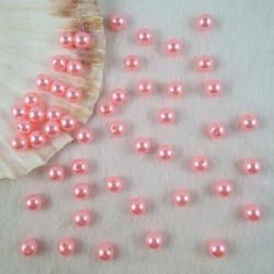 50 Perles Rose Imitation Brillant 4mm MC0104031