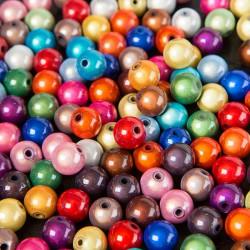 20 Perles 8mm Mixte Miracle Magique Effet Oeil De Poisson MC0108246