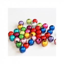 20 Perles 6mm Mixte Miracle Magique Effet Oeil De Poisson MC0106055