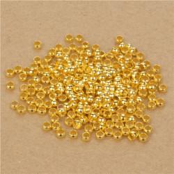 Lot de Perles à Écraser 3mm Doré MC0103018-18