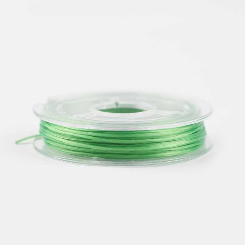 Bobine de fil Nylon Elastique 0,8mm environ 10m