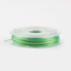Bobine de Fil Nylon Elastique 0,8mm Vert environ 10m MC0208337