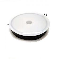 Bobine de Fil Nylon Elastique 0,8mm Noir environ 10m MC0208301