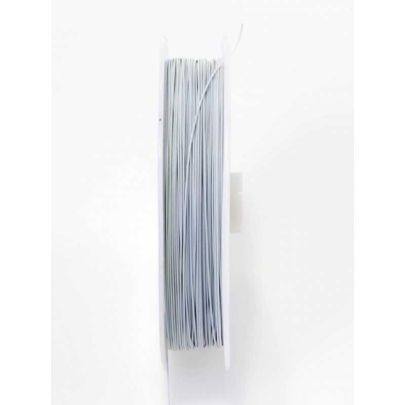 5m Fil Aluminium 0.5mm Souple Couleurs au Choix, Tiger Tail
