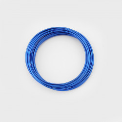 5m Fil Aluminium 1,5mm Couleur Bleu MC0215502