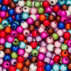 30 Perles 5mm Mixte Miracle Magique Effet Oeil de Poisson MC0105007