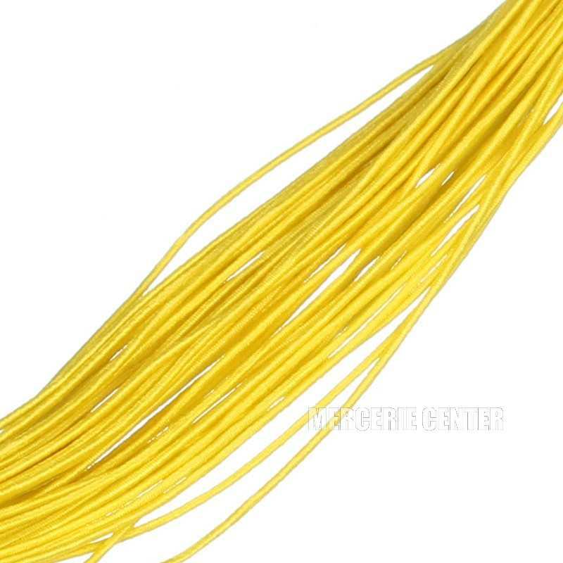 4m Fil elastique 1mm Couleur Jaune