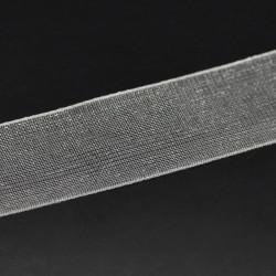 ruban organza Blanc 10mm vendu au mètre