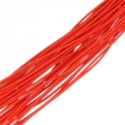 1m Fil elastique 1mm Couleur Rouge MC0210380