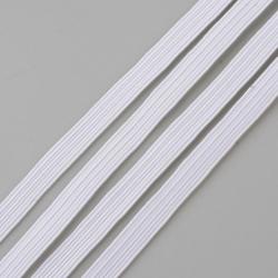 Fil Elastique Plat Blanc 3mm (vendu au metre) MC0210350C