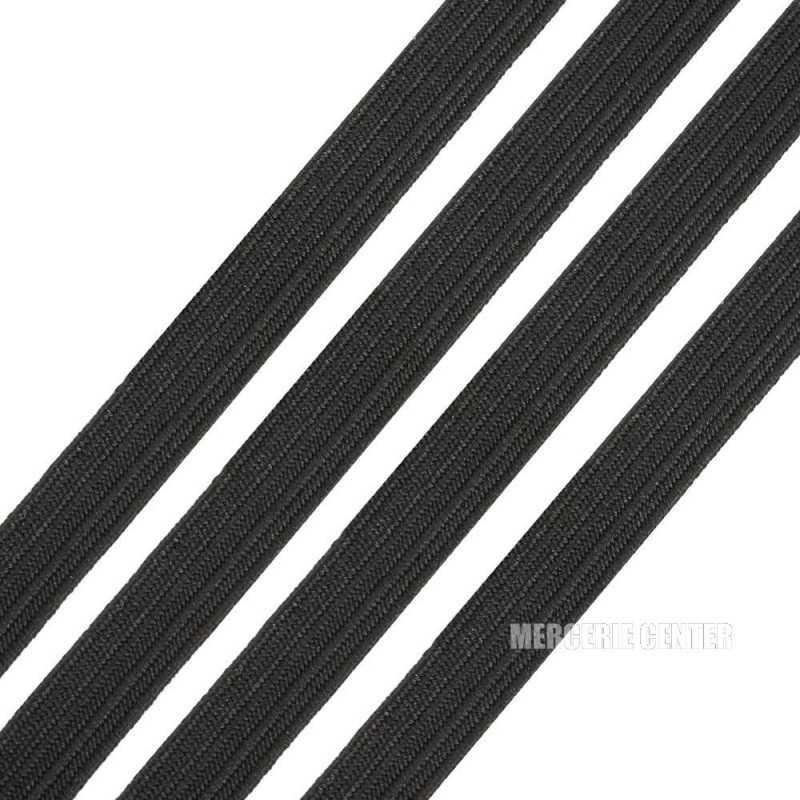 Fil Elastique Plat 3mm Couleur au Choix (vendu au metre)