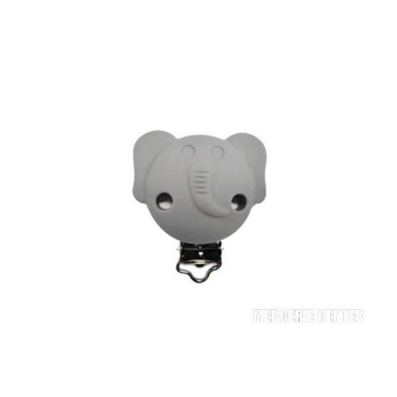 Silicone Clip Pince Attache Tetine Elephante