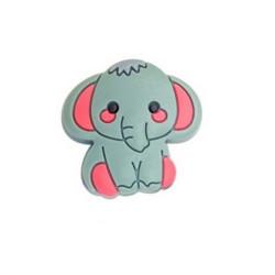 Perle en silicone Elephant 31mm x 24mm MC1200080