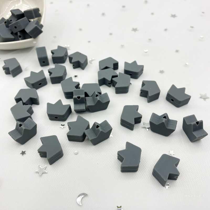 Perle en Silicone Feuille D'Erable 17mm x 14mm
