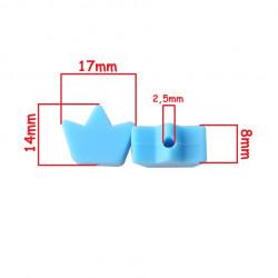 Perle en Silicone Feuille D'Erable 17mm x 14mm MC1200042