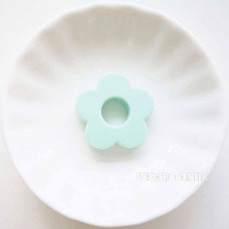Perle Silicone Fleur 27mm