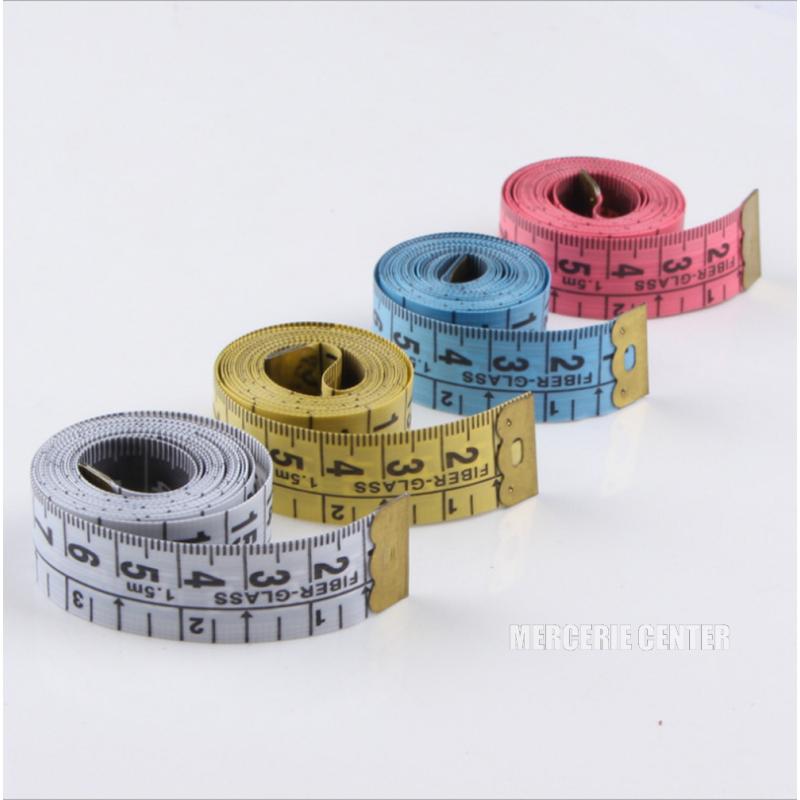 Metre Ruban 150cm Couleur au choix 1,5m Couture mm/cm et inch/pouce