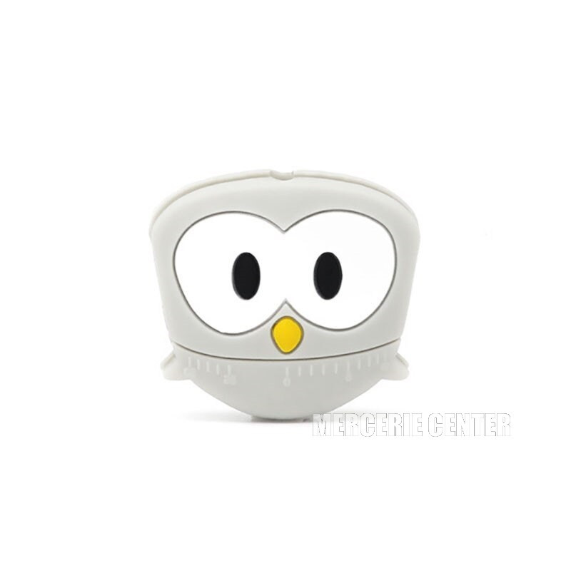 Perle Silicone Hibou 28mm x 25mm