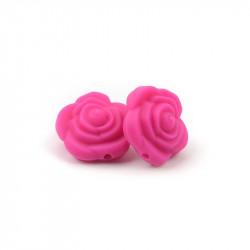 Perle Silicone Fleur 20mm x 20mm MC1200062