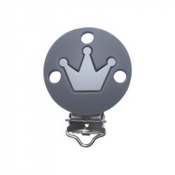 Silicone Clip Pince Attache Tetine Rond avec Couronne 35mm x 50mm MC2035710