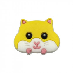 Perle Silicone Hamster 30mm x 24mm MC1200084