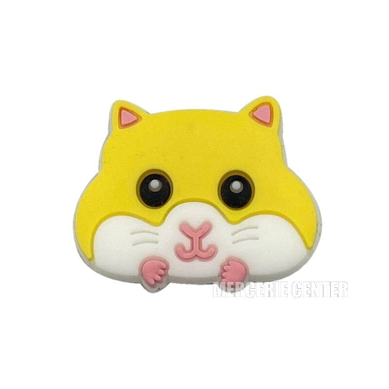 Perle Silicone Hamster 30mm x 24mm