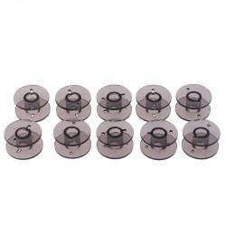 5 ou 10 Bobines Canettes en Plastique Couleur Noir Pour Fil de Machine à Coudre MC1000033