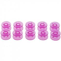 5 ou 10 Bobines Canettes en Plastique Couleur Violet Pour Fil de Machine à Coudre MC1000038