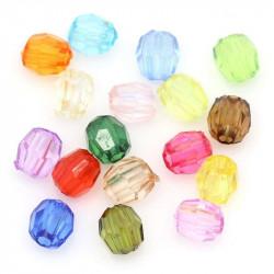 100 Perles Acrylique 4mm Facette MC0104011